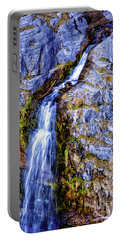 Waterfall-mt Timpanogos Portable Battery Charger