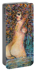 Waterfall Nude Portable Battery Charger