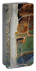 Waterfall Slate Portable Battery Charger by Holly Blunkall