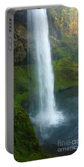 Waterfall View Portable Battery Charger