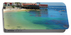 Waterfront At Cannery Row Portable Battery Charger