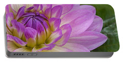 Waterlily Dahlia Portable Battery Charger