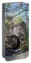 Portable Battery Charger featuring the photograph Waterwheel At Stone Mountain by Gordon Elwell