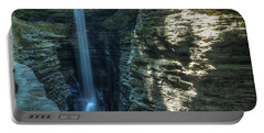 Watkins Glen Portable Battery Charger by Dave Files