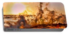 Wave Crasher La Jolla By Diana Sainz Portable Battery Charger