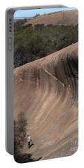 Portable Battery Charger featuring the photograph Wave Rock - Western Australia by Phil Banks