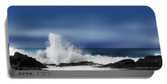 Portable Battery Charger featuring the photograph Waves by Athala Carole Bruckner