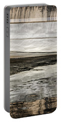 Portable Battery Charger featuring the photograph Wavy Reflections by Sue Smith