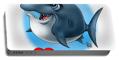 We Love Tourists Shark Portable Battery Charger