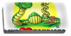 We Love Tourists Snake Portable Battery Charger