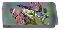 Portable Battery Charger featuring the photograph We Make A Beautiful Pair by Deena Stoddard