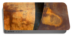 Weathered Bronze Abstract Portable Battery Charger