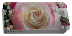 Portable Battery Charger featuring the photograph Wedding Bouquet by Deb Halloran