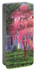 Weeping Cherry By The Veranda Portable Battery Charger