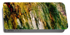 Weeping Willow Tree Painterly Monet Impressionist Dreams Portable Battery Charger