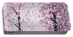 Welcome Spring Portable Battery Charger by Kume Bryant