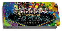 Welcome To Las Vegas Portable Battery Charger