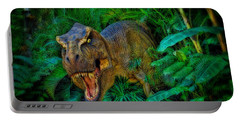 Welcome To My Park Tyrannosaurus Rex Portable Battery Charger