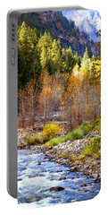 Wenatchee River - Leavenworth - Washington Portable Battery Charger