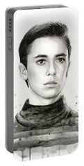 Wesley Crusher Star Trek Fan Art Portable Battery Charger