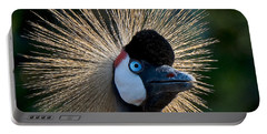 West African Crowned Crane Portable Battery Charger