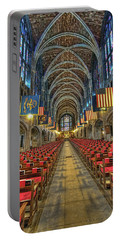 West Point Cadet Chapel Portable Battery Charger by Dan McManus