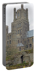 West Tower Of Ely Cathedral  Portable Battery Charger