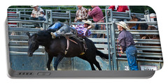 Portable Battery Charger featuring the photograph Western Cowboy by Gary Keesler