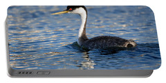 Portable Battery Charger featuring the photograph Western Grebe by Jack Bell