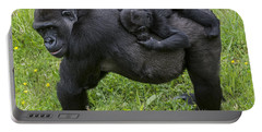 Western Lowland Gorilla 2 Portable Battery Charger