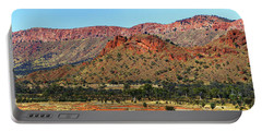 Western Macdonnell Ranges Portable Battery Charger by Paul Svensen