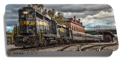 Western Maryland Scenic Railroad Portable Battery Charger by Jeannette Hunt