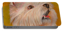 Westie Portrait Portable Battery Charger