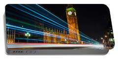 Westminster Light Trails Portable Battery Charger