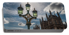 Portable Battery Charger featuring the photograph Westminster by Matt Malloy
