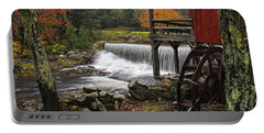 Weston Grist Mill Portable Battery Charger by Priscilla Burgers