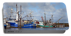 Westport Fishing Boats 2 Portable Battery Charger by Chalet Roome-Rigdon