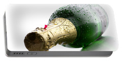 Wet Champagne Bottle Portable Battery Charger