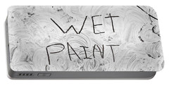 Wet Paint Portable Battery Charger