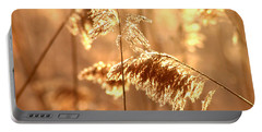 Wetland Sunrise Portable Battery Charger by Kenny Glotfelty