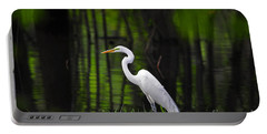 Wetland Wader Portable Battery Charger by Al Powell Photography USA