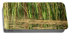 Portable Battery Charger featuring the photograph Wetlands by Laurel Powell