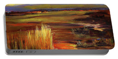 Wetlands Sunset Iv Portable Battery Charger