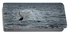 Portable Battery Charger featuring the photograph Whale Of A Time by Miroslava Jurcik