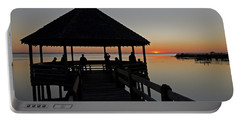 Portable Battery Charger featuring the photograph Whalehead Sunset Obx by Greg Reed