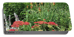 Portable Battery Charger featuring the photograph What A Wonderful World - Flowers by Susan Carella