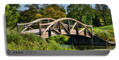 Wheaton Northside Park Bridge Portable Battery Charger by Christopher Arndt
