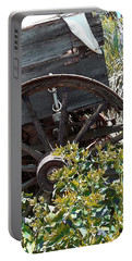 Wheels In The Garden Portable Battery Charger by Glenn McCarthy Art and Photography