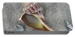 Whelk With Sand Portable Battery Charger