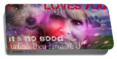When Somebody Loves You - 1 Portable Battery Charger